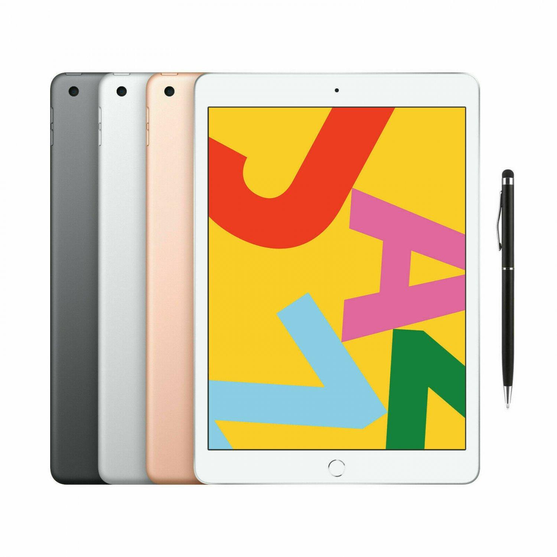 "Apple iPad (Latest Version) 10.2"" Retina Display 32GB Wifi Touch ID + Stylus"