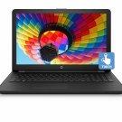 """HP 15.6"""" HD Touch Laptop Intel Quad 2.7GHz 1TB HDD 4GB Webcam Windows 10 Black"""