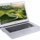 "Acer 14"" Chromebook Intel Quad Core Atom x5 1.04GHz 32GB SSD 4GB RAM Silver"