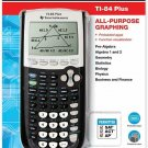 Texas Instruments TI-84 Plus All-Purpose Graphing Calculator + Case - Black