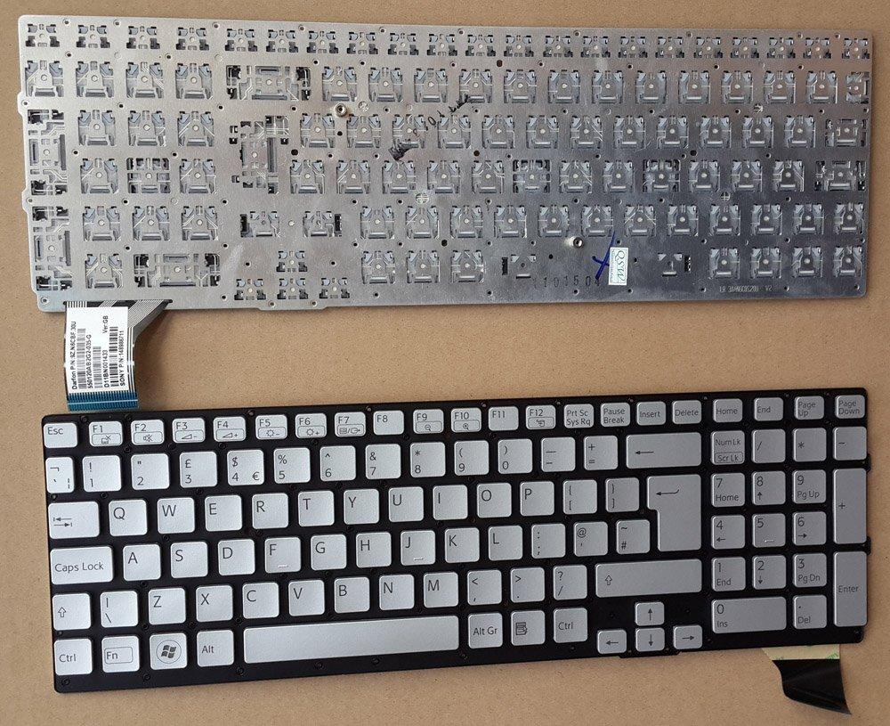 Original Sony VAIO VPC-SE Series Laptop Keyboard UK Layout PN 148986711