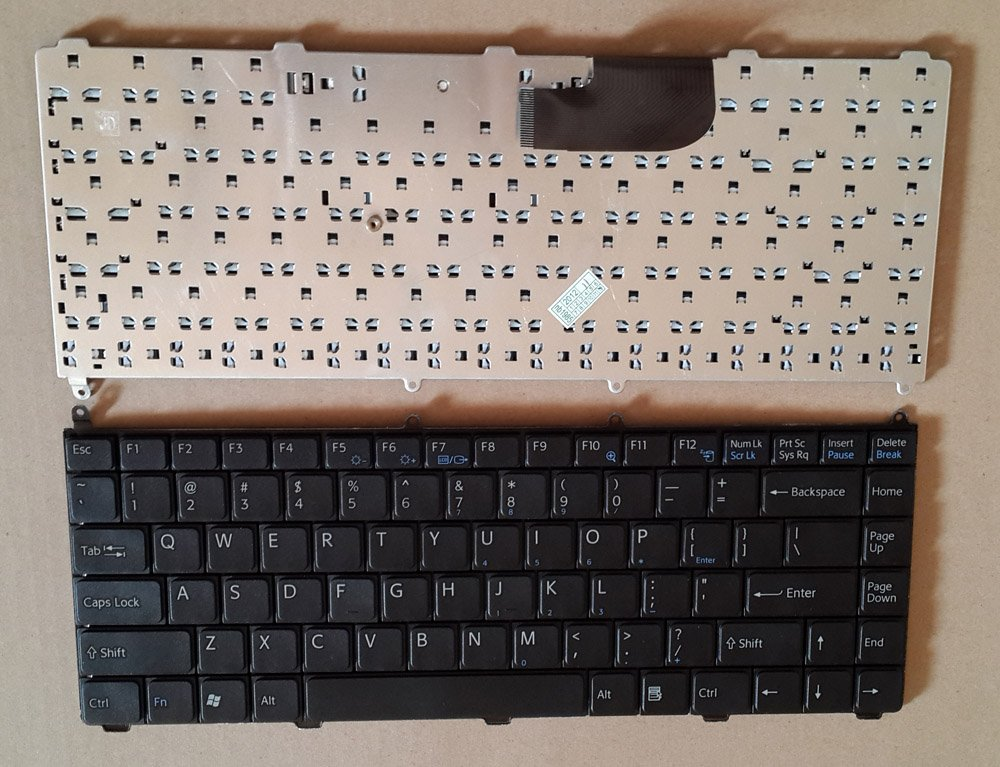 Original Sony VAIO VGN-FE Series Laptop Keyboard Black US Layout