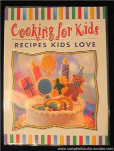 Cooking For Kids Children's Cookbook 59 Fun Recipes NEW
