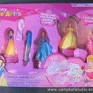 Girl's Princess Magic Art Stamp Activity Kit NEW