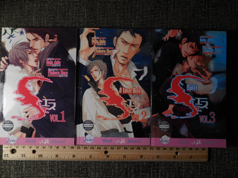 S Yaoi Novel | Volume 1-3 Set | Paperback | Saki Aida
