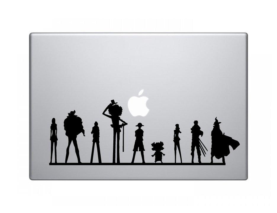 "One Piece Team Decal Sticker Skin Apple MacBook Pro Air Mac 13"" inch"