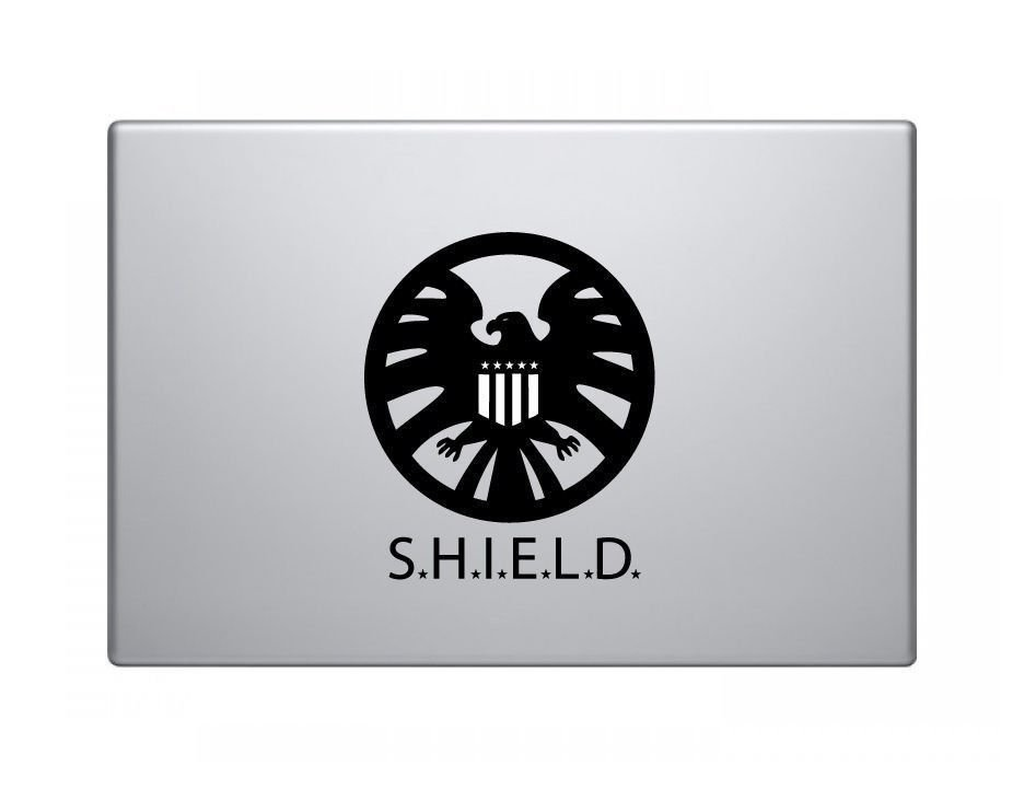 Avenger Shield Vinyl Decal Sticker Apple MacBook Pro Air Mac