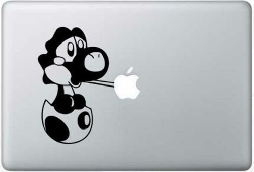 Baby yoshi vinyl decal sticker apple macbook pro air mac