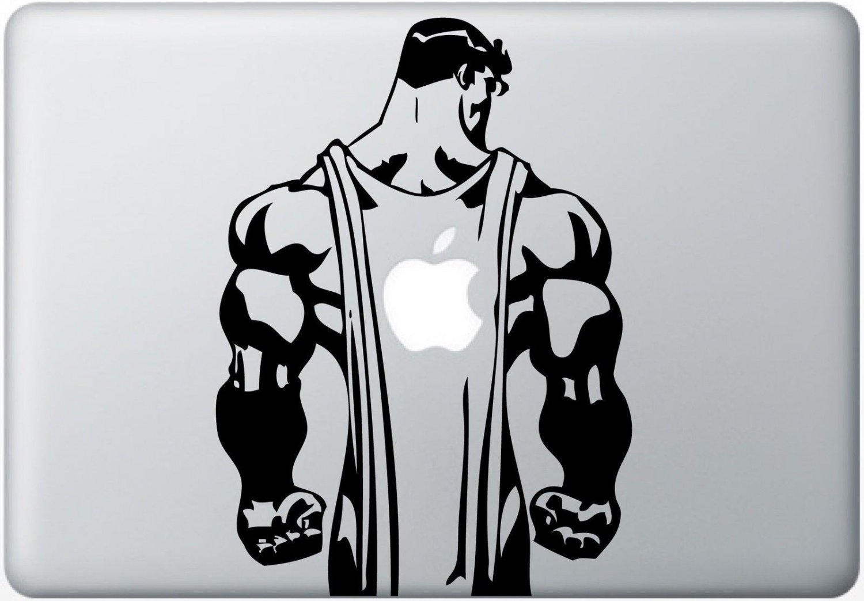 Man of Steel Vinyl Decal Sticker Apple MacBook Pro Air Mac