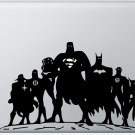 Justice League Superhero Vinyl Decal Sticker Skin for Apple Macbook Pro 13""