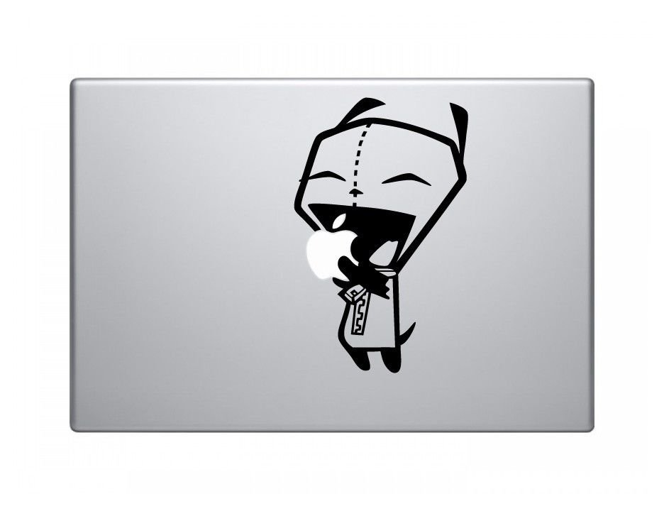 Gir big mouth vinyl decal sticker skin for apple macbook pro air