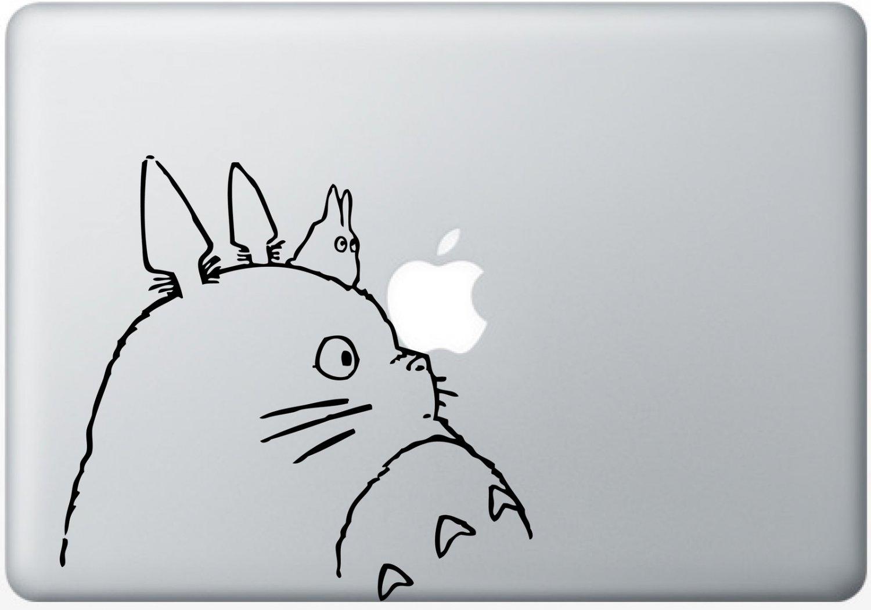 "Totoro Decal Sticker Skin for Apple MacBook Pro Air Mac 13"" inch"