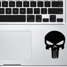 Punish skull Trackpad Vinyl Decal Sticker Apple MacBook Pro Air Mac