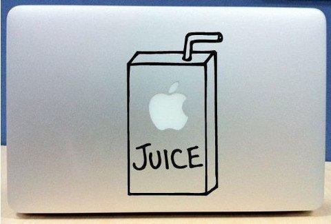 juice box Vinyl Decal Sticker Apple MacBook Pro Air Mac