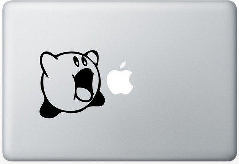 Kirby Vinyl Decal Sticker Apple MacBook Pro Air Mac