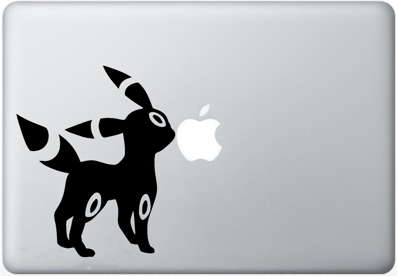 umbreon Vinyl Decal Sticker Skin for Apple MacBook Pro Air Mac 13, 15,