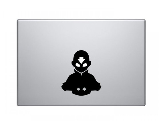 Avatar the Last Airbender Decal - Aang in the Avatar State
