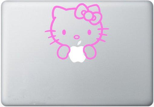 hello kitty Vinyl Decal Sticker Apple MacBook Pro Air Mac
