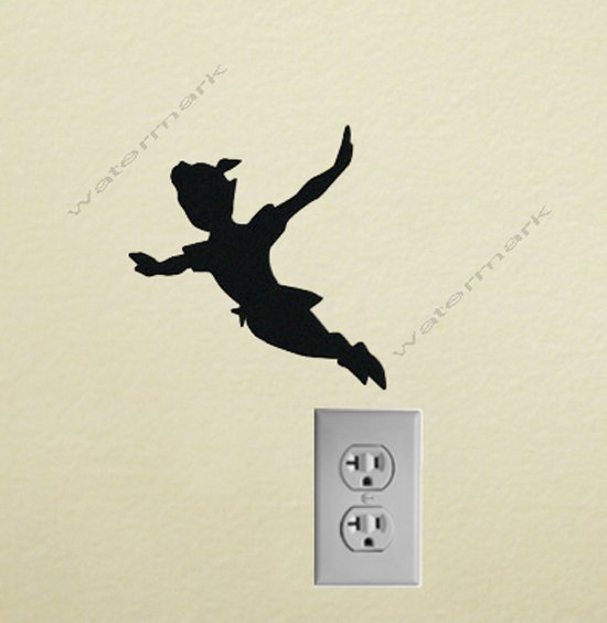 Peter pan Vinyl Decal Sticker for wall