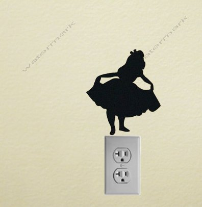 Alice Vinyl Decal Sticker for wall