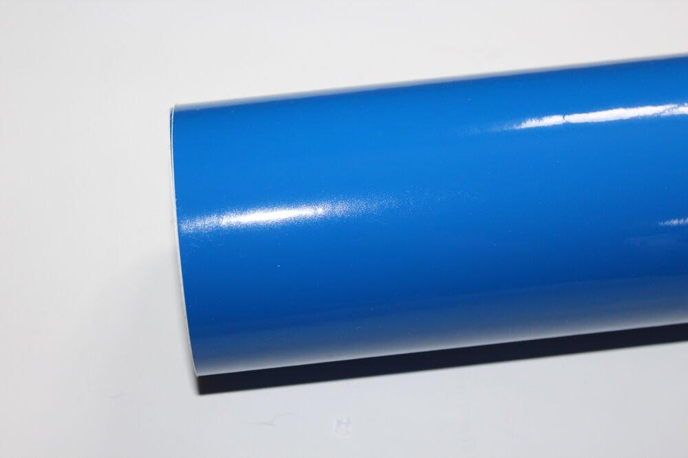 "24"" x 10 Ft roll Ocean Blue vinyl Adhesive Backed Die Cut Decal Plotter Sign film"
