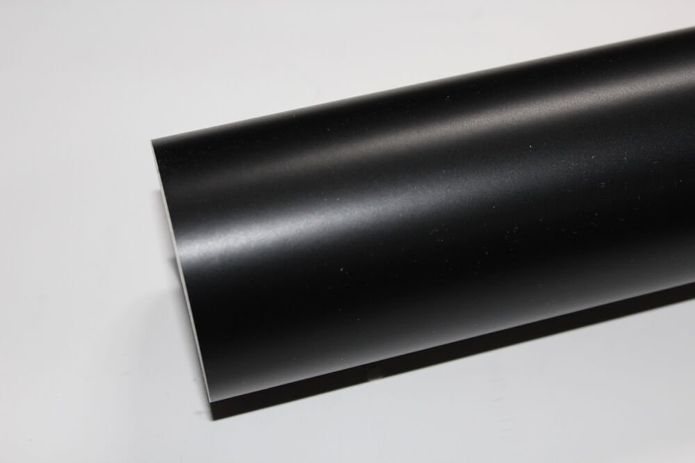 """24"""" x 10 Ft roll Matte Black vinyl Adhesive Backed Die Cut Decal Plotter Sign film"""