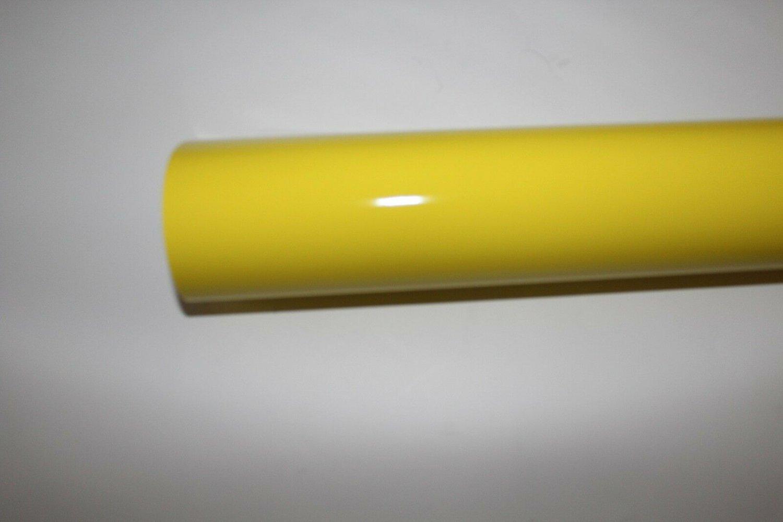 "24"" x 10 Ft roll Lemon vinyl Adhesive Backed Die Cut Decal Plotter Sign film"