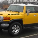"FJ Cruiser ""Italic"" Hood Decal Kit"
