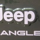 Set of wrangler Replacement Stickers Decals for YJ TJ_car white