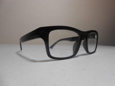 921745391ddb Cheetah Mens   Womens Reading Glasses Black Ridged Pattern ...