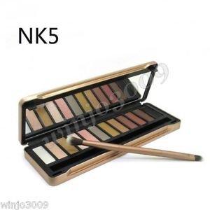 12-Color Smoky Cosmetic Waterproof Makeup Naked Eyeshadow Palette NK5