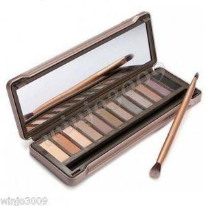 12-Color Smoky Cosmetic Waterproof Makeup Naked Eyeshadow Palette NK2