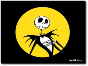 The Nightmare Before Christmas Painting