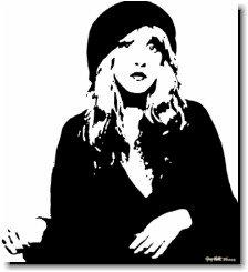 Stevie Nicks Pop Art Painting