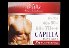 Capilla Men Drink with testosterone enhancers for a better sexual experience and healthy body