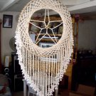 Chandelier Dream catcher,vintage,50cm.wide