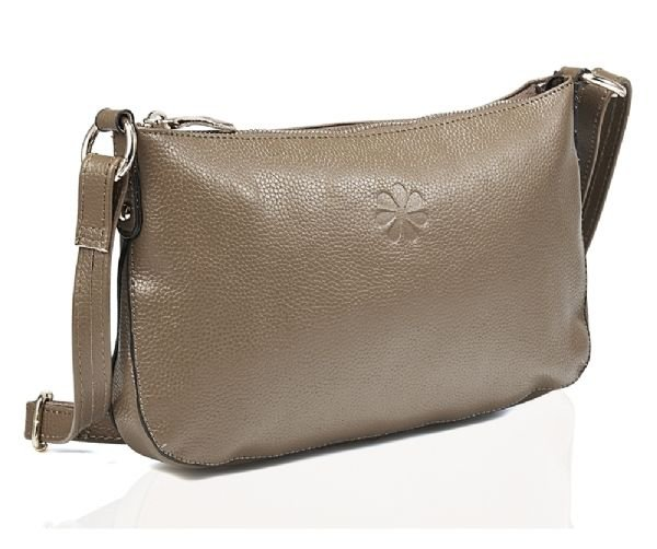 Traditional Genuine Real Leather Handbag Vintage Style in Tan + FREE GIFT
