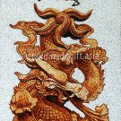 Four scale animals - Dragon Rice Painting