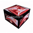 Quilling paper jewelry box