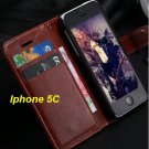 Leather case for  iphone 5c