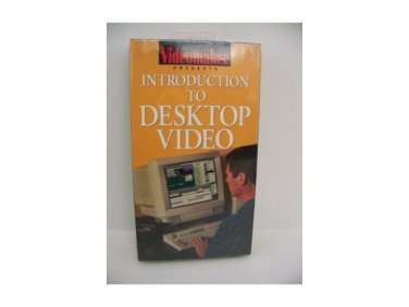 Videomaker presents INTRODUCTION TO DESKTOP VIDEO (VHS)