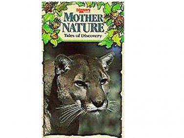 Mother Nature: Tales of Discovery Curious Cougar Kittens (VHS, 1992)