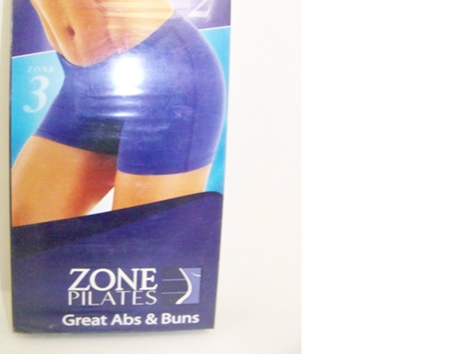 ZONE PILATES: GREAT ABS & BUNS (VHS)