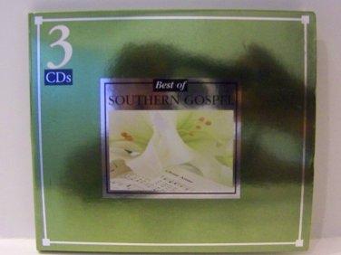 Best of SOUTHERN GOSPEL (3 PK CD, 2007)