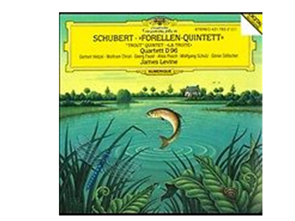 SCHUBERT FORELLEN-QUINTET: Quartett D96 (CD, 1993)