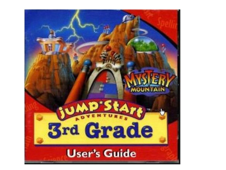 Jump Start Adventure 3rd Grade: Mystrey Mountain (CD-ROM, 1996)