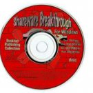 Shareware Breakthrough For Windows: Entertainment & Education Collection (CD-ROM, 1993)