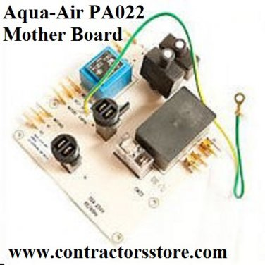 Aqua-Air PA022 Mother Board for 230/250/258 Central Vacuum Units