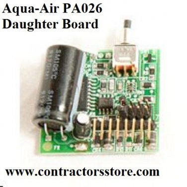Aqua-Air PA026 Daughter Board for 150/250/258 Central Vacuum Units