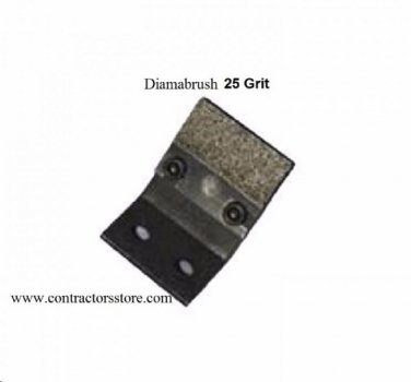 Diamabrush Replacement Blades 6 Pieces 25 Grit  Mastic Removal Tool